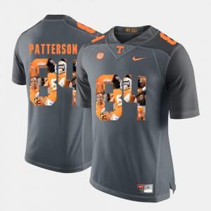 Pictorial Fashion Cordarrelle Patterson UT Jersey Grey #84 Mens 597162-624