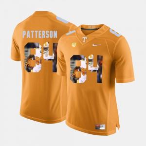 Orange #84 Cordarrelle Patterson UT Jersey For Men Pictorial Fashion 603959-742