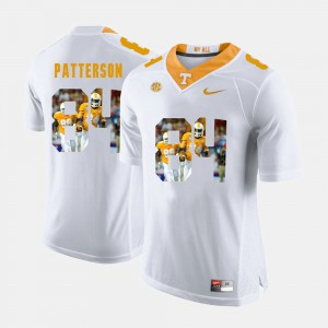 Pictorial Fashion Men's #84 Cordarrelle Patterson UT Jersey White 456957-315