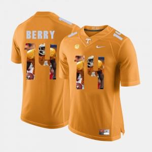 #14 Orange Pictorial Fashion Men's Eric Berry UT Jersey 483570-138