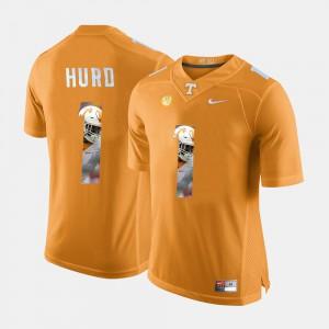 Orange Jalen Hurd UT Jersey Pictorial Fashion For Men's #1 342397-268