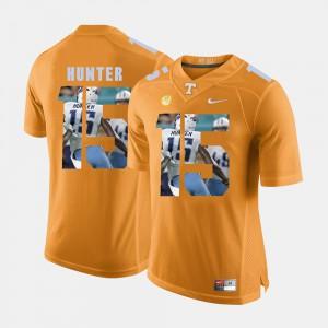 #15 Pictorial Fashion Orange Justin Hunter UT Jersey For Men's 468851-352