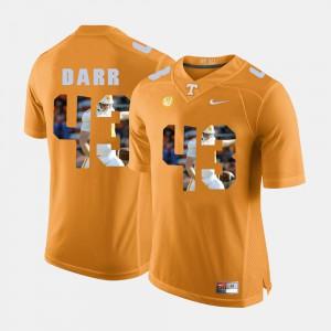 Pictorial Fashion #43 Orange Matt Darr UT Jersey Mens 581440-989