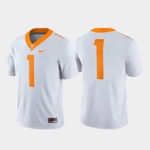 Game UT Jersey For Men's White #1 133491-585