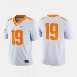 #19 Game For Men UT Jersey White 868928-462
