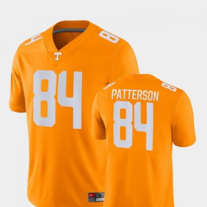 Cordarrelle Patterson UT Jersey Men's Orange Game College Football #84 528003-794