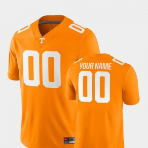 UT Custom Jerseys Tennessee Orange 2018 Game #00 College Football For Men's 940673-471