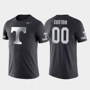 Anthracite #00 College Basketball Performance Travel For Men's UT Customized T-Shirt 565138-641