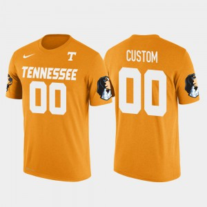 UT Customized T-Shirt Orange For Men's Cotton Football Future Stars #00 210903-207