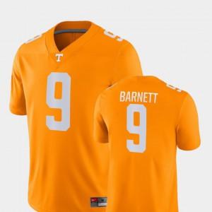 For Men #9 College Football Game Orange Derek Barnett UT Jersey 638421-119