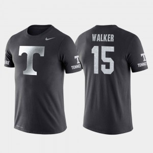 Anthracite Travel College Basketball Performance Derrick Walker UT T-Shirt #15 For Men's 407835-510