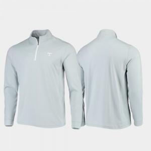 Gray UT Jacket Mens Gameday Quarter-Zip Performance 392949-713