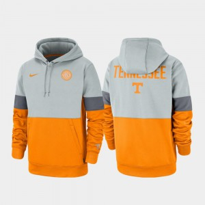 Therma Performance Pullover Rivalry For Men UT Hoodie Gray Tennessee Orange 650546-294