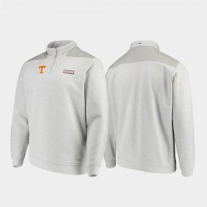 Quarter-Zip UT Jacket Heathered Gray Shep Shirt Mens 169950-967
