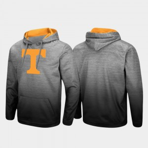 Mens Sitwell Sublimated Pullover Heathered Gray UT Hoodie 321347-556