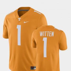 Player Tennessee Orange Jason Witten UT Jersey Alumni Football Game #1 For Men's 508834-246