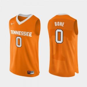 #0 Jordan Bone UT Jersey Orange College Basketball Men Authentic Performace 953984-842