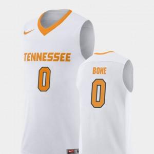 Jordan Bone UT Jersey Replica Men College Basketball #0 White 513078-503