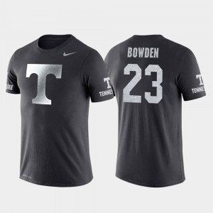 Jordan Bowden UT T-Shirt For Men #23 College Basketball Performance Anthracite Travel 828295-174