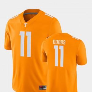 Orange Joshua Dobbs UT Jersey #11 Game Men's College Football 439329-281