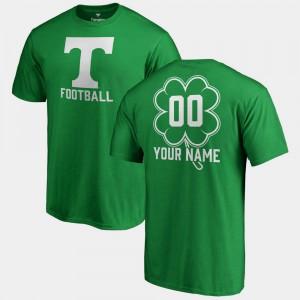 St. Patrick's Day UT Custom T-Shirts #00 Fanatics Big & Tall Dubliner Kelly Green Mens 584021-765