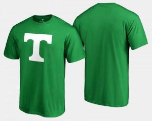 Kelly Green UT T-Shirt White Logo Big & Tall St. Patrick's Day Mens 292723-991
