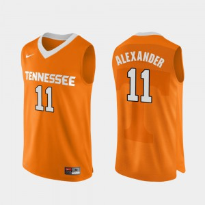 Kyle Alexander UT Jersey For Men Orange Authentic Performace College Basketball #11 248711-345