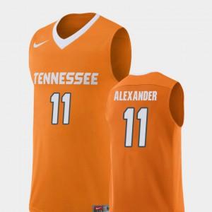 Men #11 Kyle Alexander UT Jersey Replica College Basketball Orange 713743-203