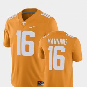 Peyton Manning UT Jersey Men Tennessee Orange Alumni Football Game Player #16 465541-301