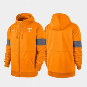 Men's Tenn Orange 2019 Sideline Therma-FIT Performance Full-Zip UT Hoodie 970001-152