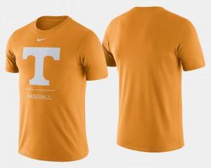 Tennessee Orange Dugout Performance College Baseball UT T-Shirt Men 178879-481