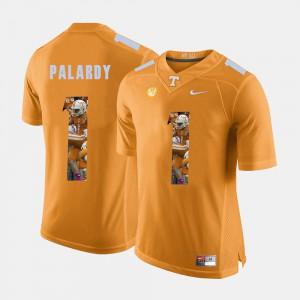 Pictorial Fashion Michael Palardy UT Jersey Mens Orange #1 795840-138