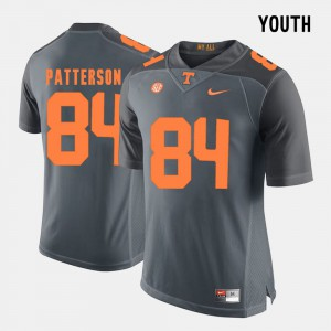 Youth(Kids) College Football #84 Grey Cordarrelle Patterson UT Jersey 967542-574