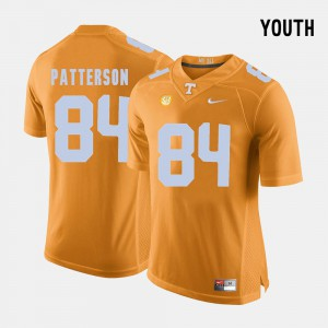 Cordarrelle Patterson UT Jersey Orange #84 College Football Youth(Kids) 356597-514