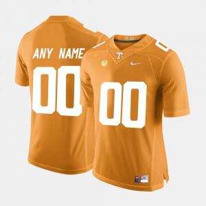 Men's Orange College Limited Football #00 UT Customized Jerseys 413044-873