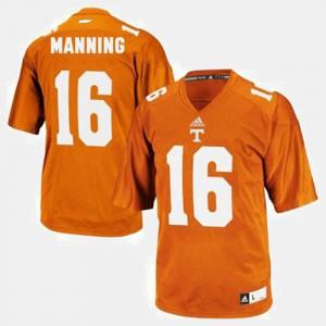 Peyton Manning UT Jersey #16 Youth(Kids) College Football Orange 856927-754