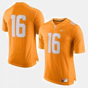 Orange College Football Men's #16 Peyton Manning UT Jersey 437122-749