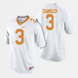 College Football Mens Ty Chandler UT Jersey White #3 604534-513