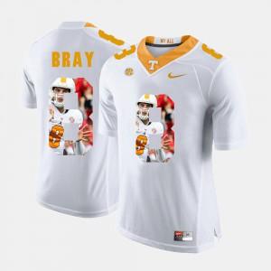 #8 Pictorial Fashion For Men Tyler Bray UT Jersey White 818869-490