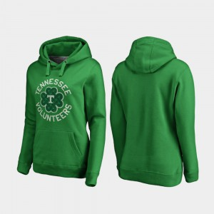 Ladies Luck Tradition St. Patrick's Day Kelly Green UT Hoodie 470077-958