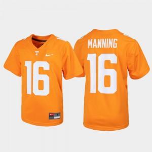 Peyton Manning UT Jersey Youth Alumni Football Game #16 Tennessee Orange 673662-539
